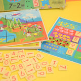 Vintage 1960s Game - Spears - fun With Sums - First Steps in Counting