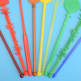Vintage 1960s Cocktail Stirrers - Various Places / Colours