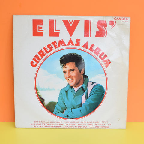 Vintage Record / Vinyl - Elvis Christmas Album