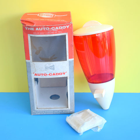 Vintage 1950s Caddymatic Style Kitchen Dispenser - Boxed - Red