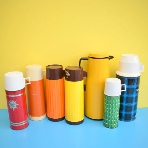 Vintage 1960s Thermos Flask Selection - Reserved For Kate