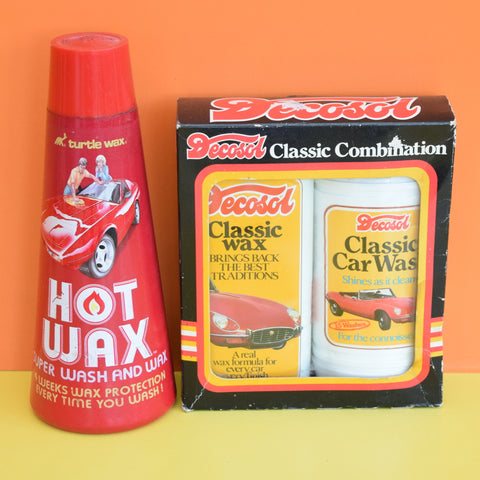 Vintage 1970s Car Care - Turtle Wax / Decosol - Ideal Gift