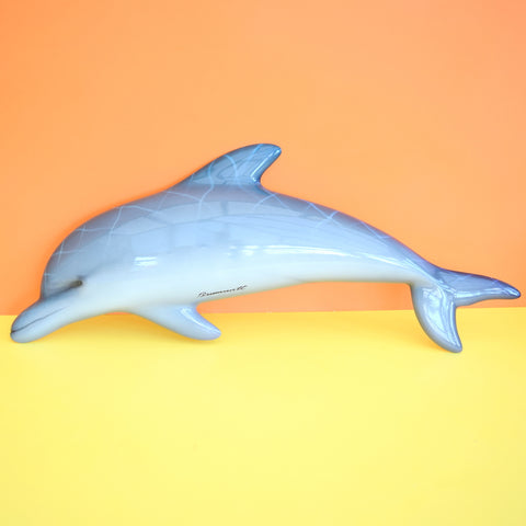 Retro Fibreglass Dolphin Wall Decor - Gary Brummett - Kitsch Fish