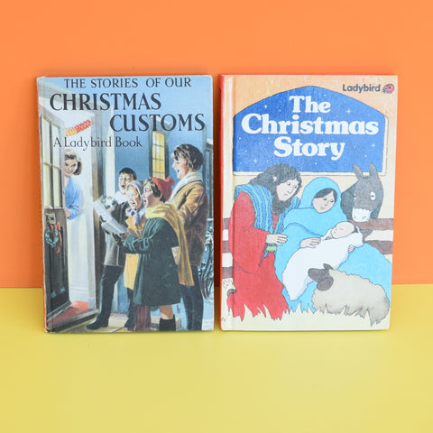 Vintage Ladybird Books - Christmas Customs / The Christmas Story