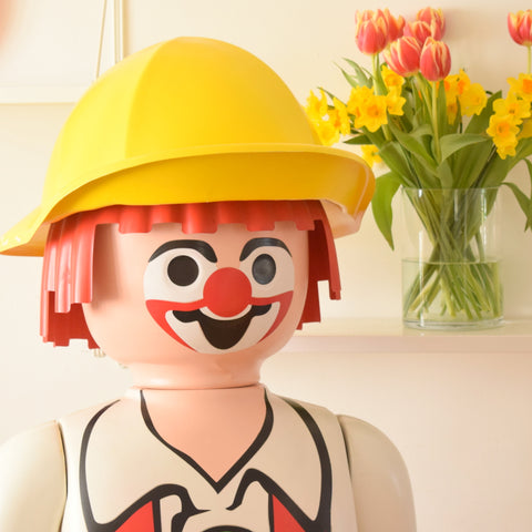 Retro, Kitsch Giant Playmobil Clown Shop Retail Figure - 5ft Hight