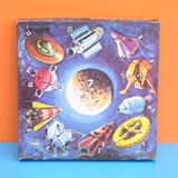 Vintage 1960s Moon Shot Game - Vic Toy - Space Age - A Lunar Power Game