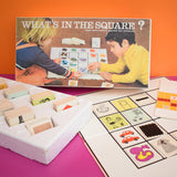 Vintage 1970s Whats In The Square Game - Logic And Matrix Game For Children