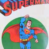 Vintage 1970s Huge Superman Poster - Framed