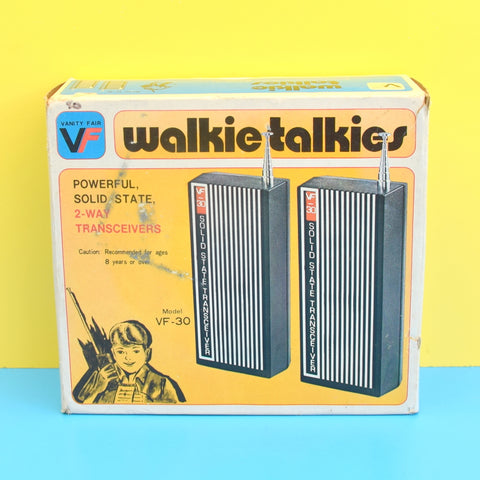 Vintage 1970s Walkie Talkie / Transceiver - Precor Or Vanity Fair (Boxed)