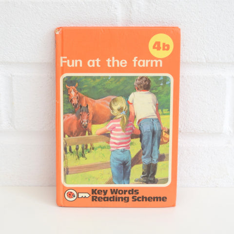 Vintage Ladybird Books - Orange Key Word Reading Scheme 4b