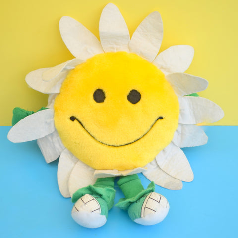 Vintage 1980s Cuddly Flower With Trainers - Play Walkers