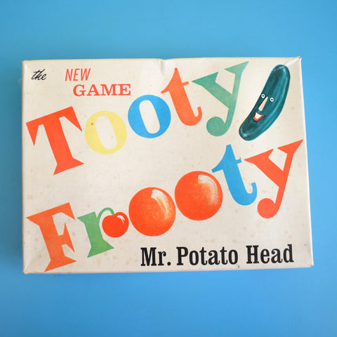Vintage 1950s Plastic Tooty Frooty - Mr Potato Head Game - Boxed