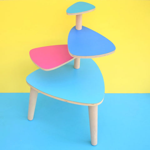Vintage Style Formica Tiered Stand / Table - Pick & Mix