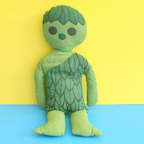Vintage 1970s Cuddly Sprout (Jolly Green Giant) American Toy