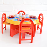 Vintage 1980s Pedigree Playtime Kitchen - Dining Set