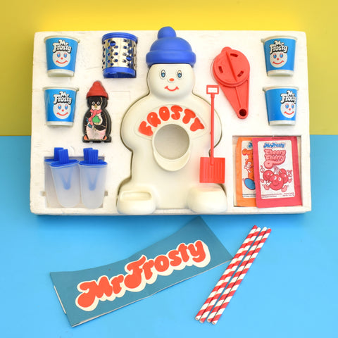 Vintage 1970s Mr Frosty - Boxed & Near Complete - Slushie / Lolly Maker