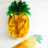 Retro Kitsch Pineapple Decorations- Large , Medium Or Small