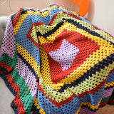 Vintage 1970s Crochet Blanket / Throw - Various Colours