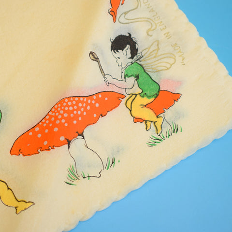 Vintage 1930s Boxed Paper Napkins - Pixies, Toadstools & Fairies
