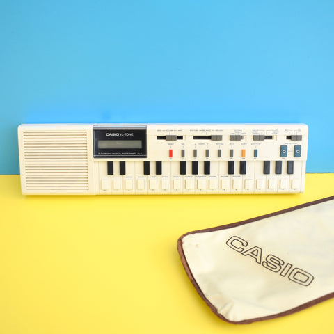Vintage 1980s Casio VL- Tone - Electronic Musical Instrument - With Pouch