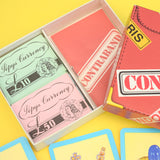 Vintage 1950s Card Game - Contraband - Complete
