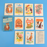Vintage 1970s Beat Your Neighbour Card Game - Fantastic Images