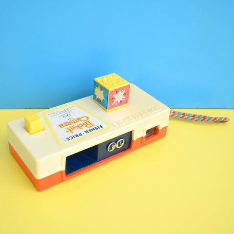 Vintage 1970s Plastic Fisher Price Pocket Camera Toy