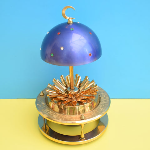 Vintage 1950s Cigarette Holder / Dispenser - Smoking Celestial Globe