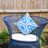 Vintage Fibreglass Strand Chair / Tub Chairs - Russell Woodard - Blue