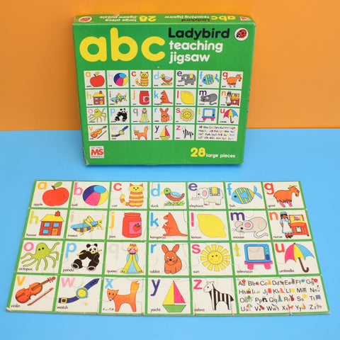 Vintage 1980s Ladybird Jigsaw Puzzle - ABC teaching