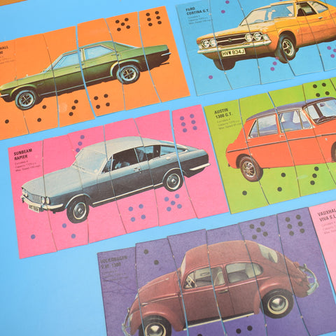 Vintage 1970s Car Capers Game- Complete