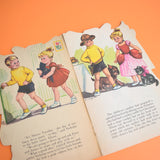 Vintage 1960s Books x7 - Pig, Duck, Kitten, Goblin, Bunnkin, Bear & Nicolas And The Fancy Dress Ball