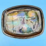 Vintage Studio Pottery Dish - Eric Leaper - Newlyn Pottery