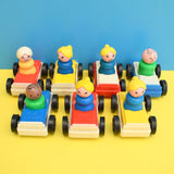 Vintage 1980s Fisher Price - Little People & Vehicles - Classic Toys