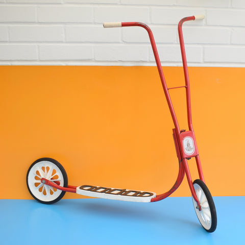 Vintage 1970s Raleigh Sunbeam Scooter - Red
