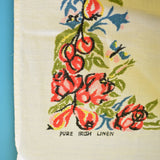 Vintage 1950s Cotton Tea Towel - Babycham