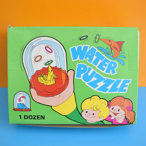Vintage 1970s Water Puzzles - Unused Old Stock - Stocking Fillers