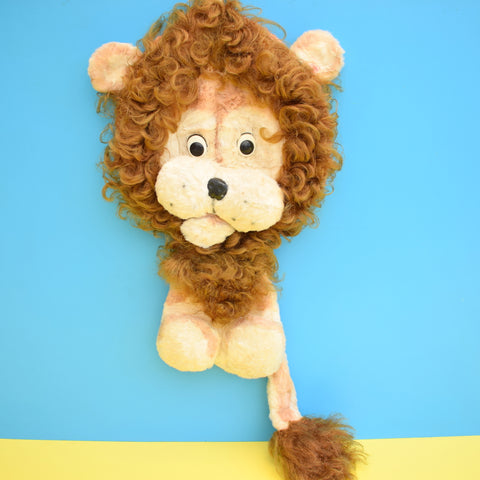 Vintage 1960s Hairy / Fury Lion Pyjama Case - Needs A Good Home