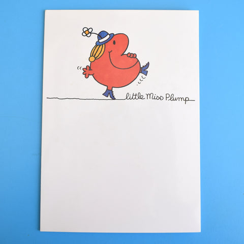 Vintage 1980s Greeting Card - Little Miss Plump / Little Miss Bossy