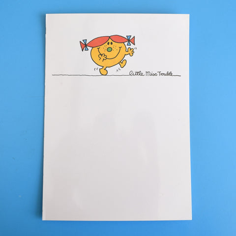 Vintage 1980s Greeting Card - Little Miss Trouble / Little Miss Helpful