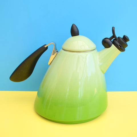 New Le Creuset Ogive Enamel Tea Pot / Kettle - Kiwi Green (Boxed)
