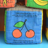 Vintage 1960s Rare Dick Bruna Soft Fabric Blocks - Deans