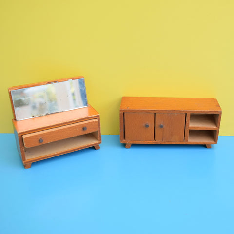 Vintage 1970s Dolls House Furniture Groups - Flairline, Lundby