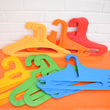 Vintage 1970s Plastic Clothes Hanger - German, Choose Colours