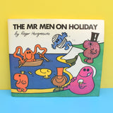 Vintage 1970s Large Mr Men Books - Great Gifts - Mr Men On Holiday & Mr Men Sports Day