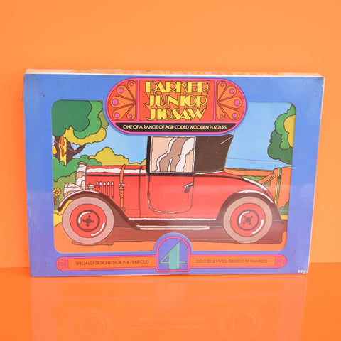 Vintage Unused 1970s Wooden Jigsaw Puzzle - Junior Parker - Choice Of Ages