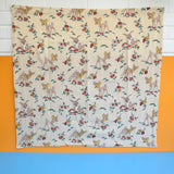 Vintage 1950s Bambi / Thumper / Toadstool Fabric Panels