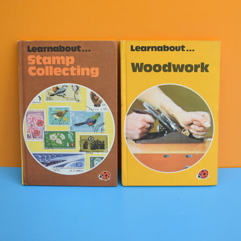 Vintage Ladybird Books - Learnabout Series - Woodworking / Stamps
