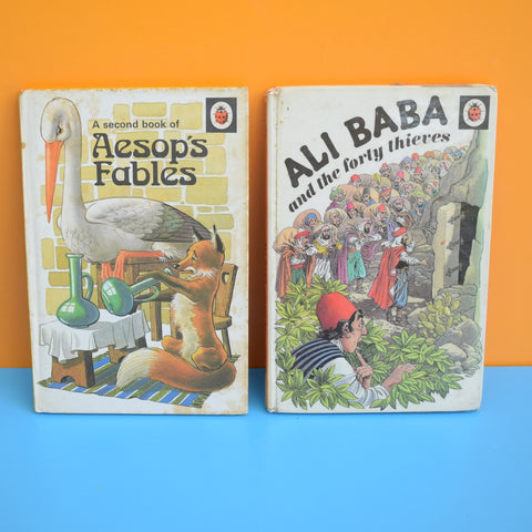 Vintage Ladybird Books - Aesops Fables / Ali Baba