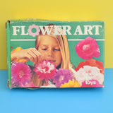 Vintage 1970s - Flower Art - Flower Power - Tissue Paper Blooms - Boxed